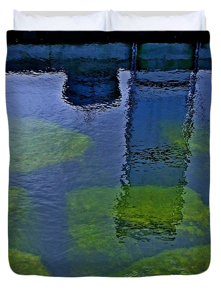 Door County Reflections Duvet Cover