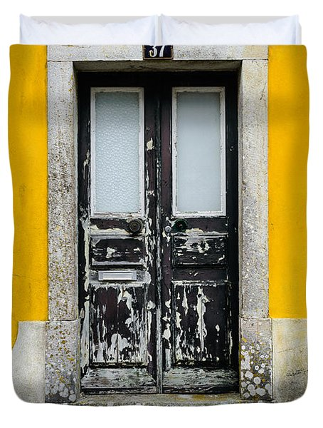 Door No 37 Duvet Cover