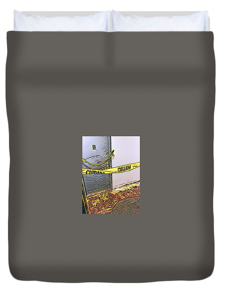 Door Of Perception Duvet Cover