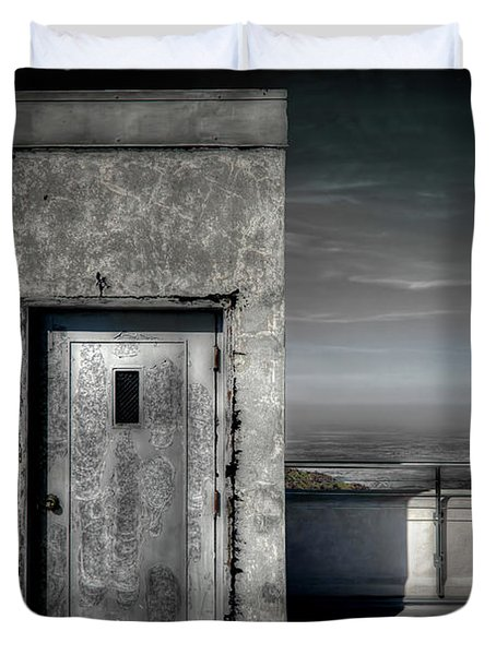 Door To Nowhere Duvet Cover