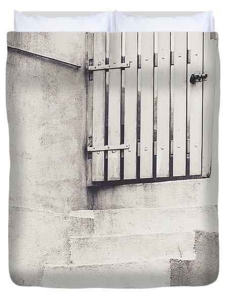 Door To Nowhere. Duvet Cover