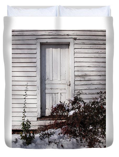 Door To Somewhere Duvet Cover