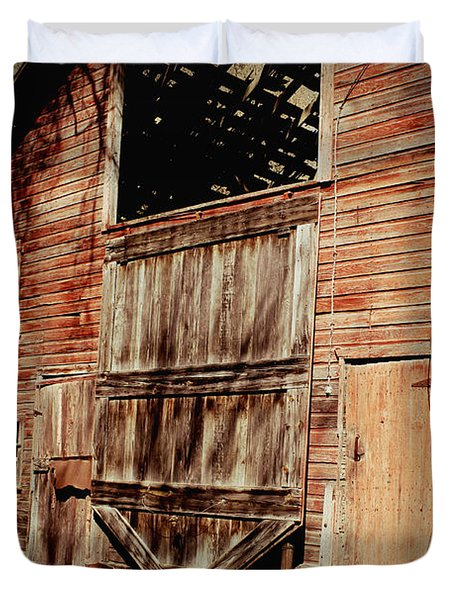 Doors Open Duvet Cover