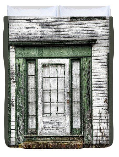 Doorway Of Past Duvet Cover