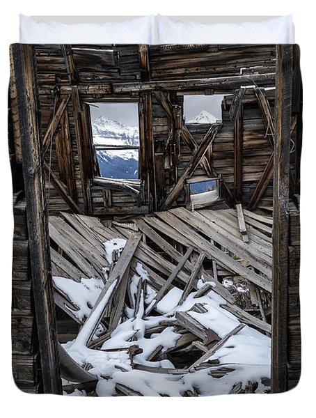 Doorway To The Past Duvet Cover
