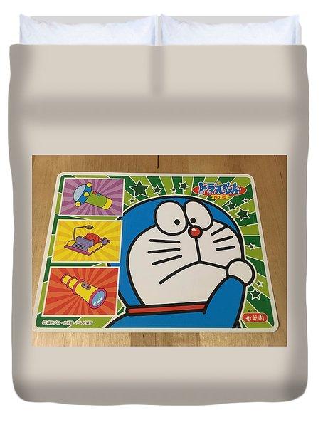 Doraemon Gadget Cat From The Future Duvet Cover