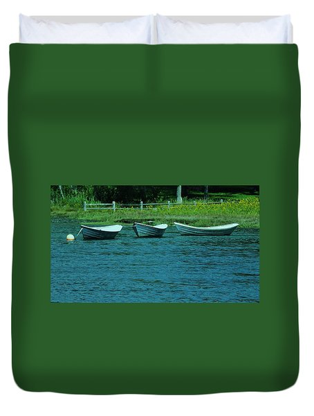 Dories Duvet Cover by John Wartman