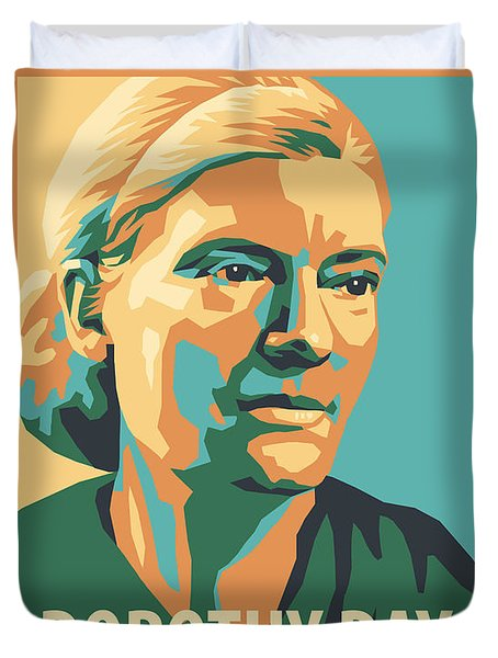 Dorothy Day, 1938 - Jldyd Duvet Cover