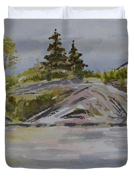 Dorothy Lake Island Duvet Cover