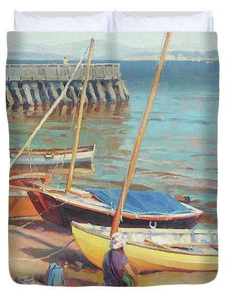 Dory Beach Duvet Cover