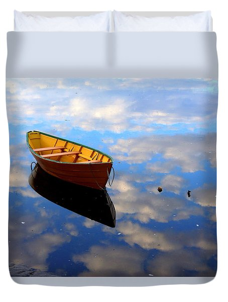 Dory In The Clouds Duvet Cover