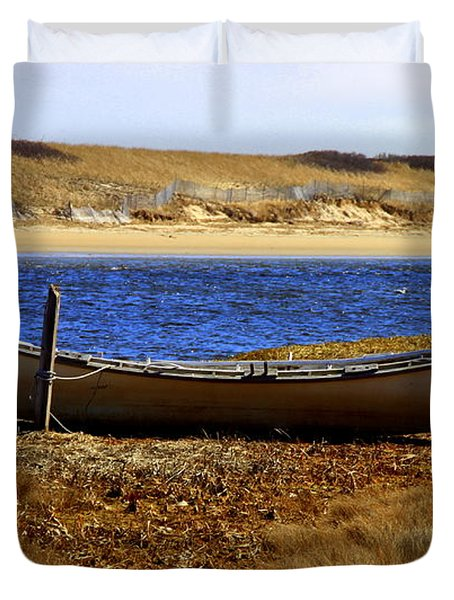 Dory My The  Ogunquit River Duvet Cover