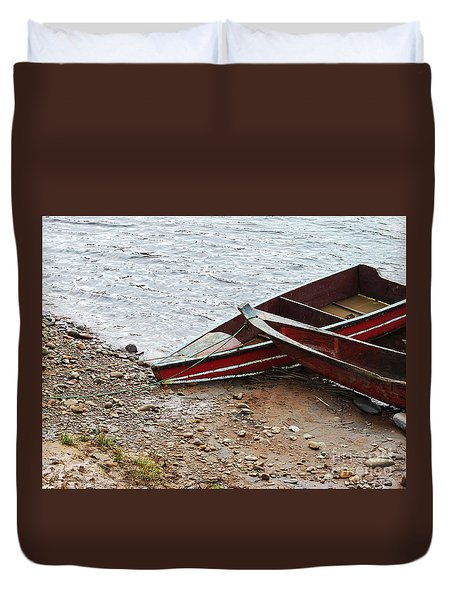 Dos Barcos Duvet Cover