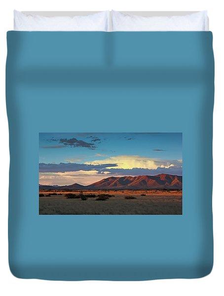 Dos Cabezos Sunset Serenity Duvet Cover
