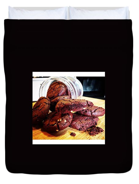 Double Chocolate Chip Cookies. Follow Duvet Cover