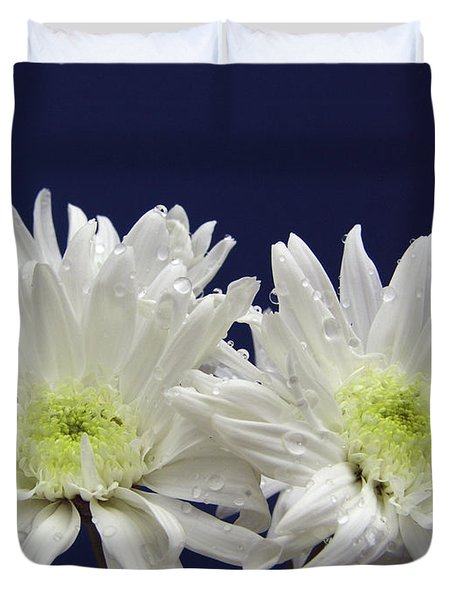 Double Dahlia Duvet Cover