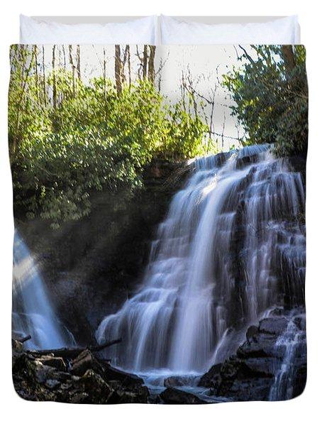 Double Falls Duvet Cover