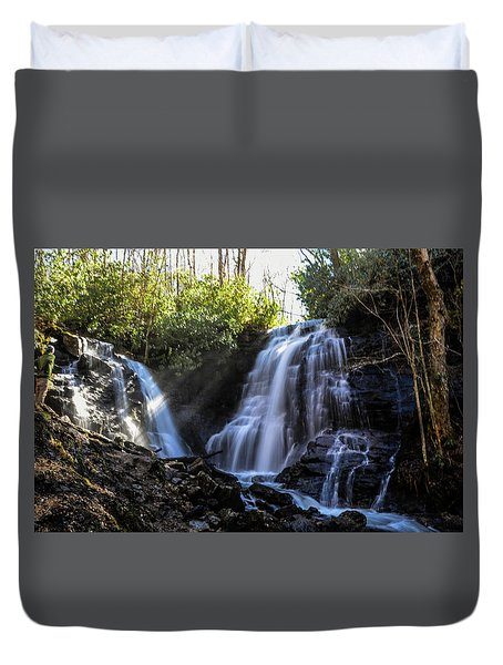 Double Falls Duvet Cover