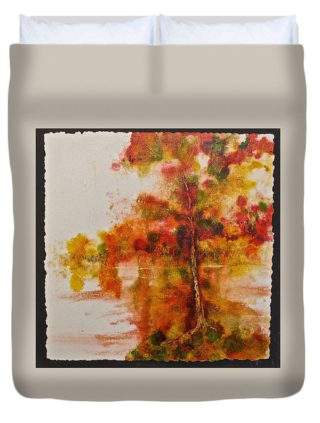 Double Reflection Duvet Cover by Carolyn Rosenberger