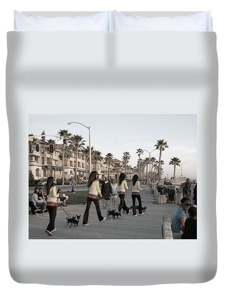 Double Take Duvet Cover by Bill Dutting