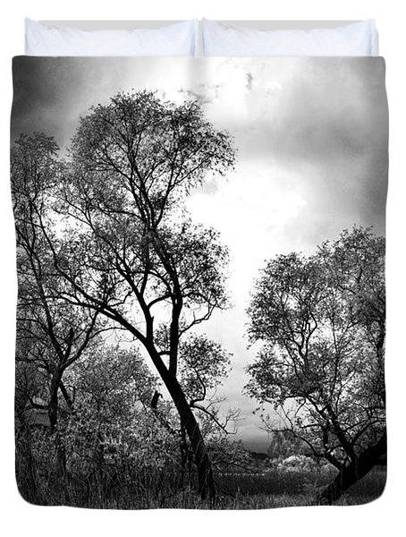 Double Tree Duvet Cover