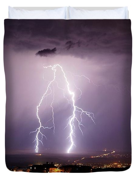 Double Trouble Duvet Cover