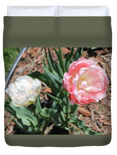 Double Tulip Duvet Cover
