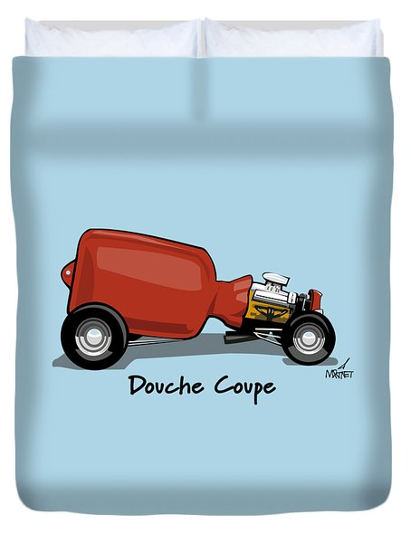 Douche Coupe Duvet Cover
