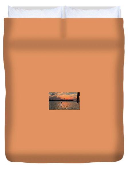 Doug Hobson, Red Rock Lake Duvet Cover