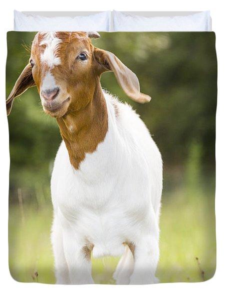 Dougie The Goat Duvet Cover