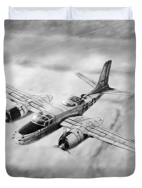 Douglas A-26 Invader Duvet Cover