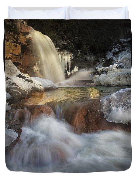 Douglas Falls Flow Duvet Cover