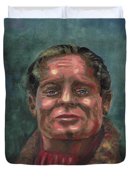 Douglass Bader Duvet Cover