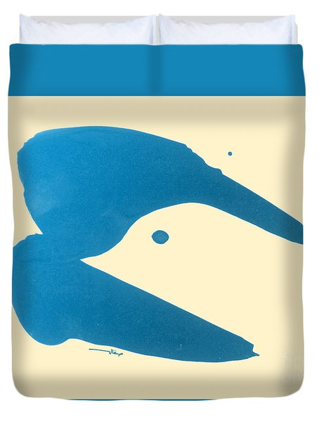 Dove Head Duvet Cover