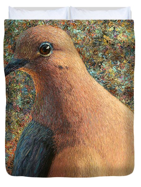 Dove Duvet Cover by James W Johnson