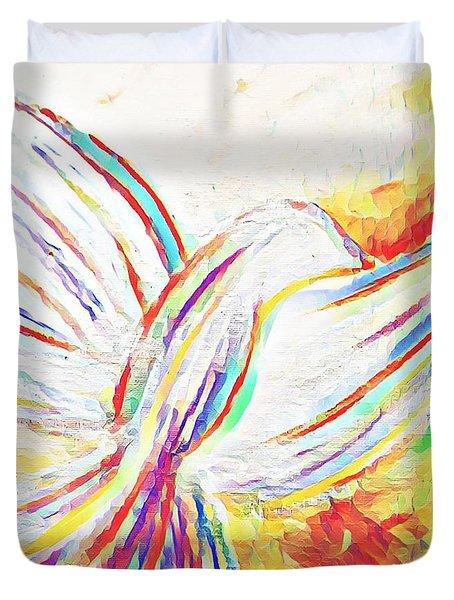 Holy Spirit Duvet Cover