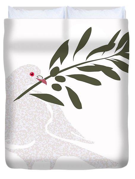 Dove Of Peace Duvet Cover