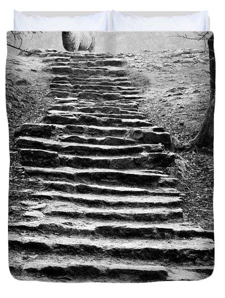 Dovedale Steps Duvet Cover