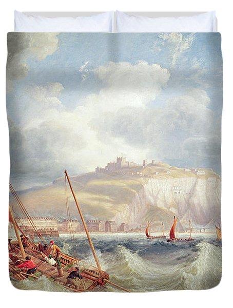 Dover Duvet Cover by John Wilson Carmichael