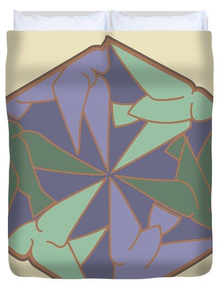 Doves Logo Color Duvet Cover