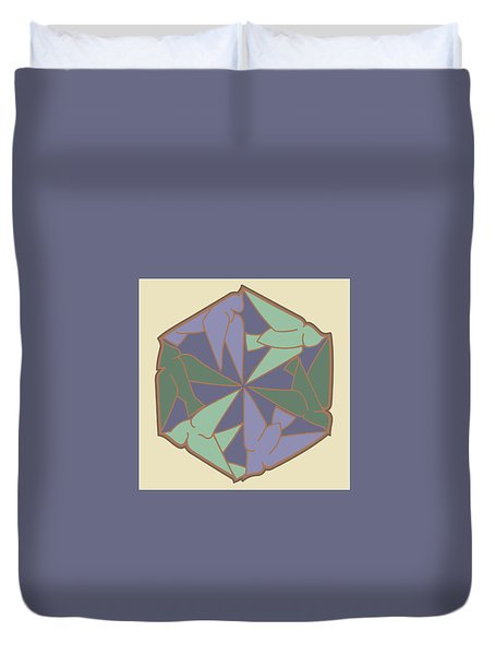 Doves Logo Color Duvet Cover