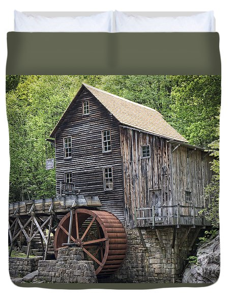 Natures Milling Machine Duvet Cover