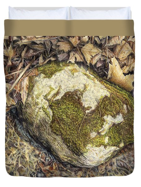 Down By The Stream  Duvet Cover