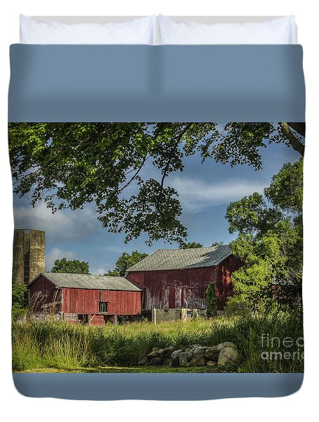 Down On The Farm Duvet Cover by JRP Photography