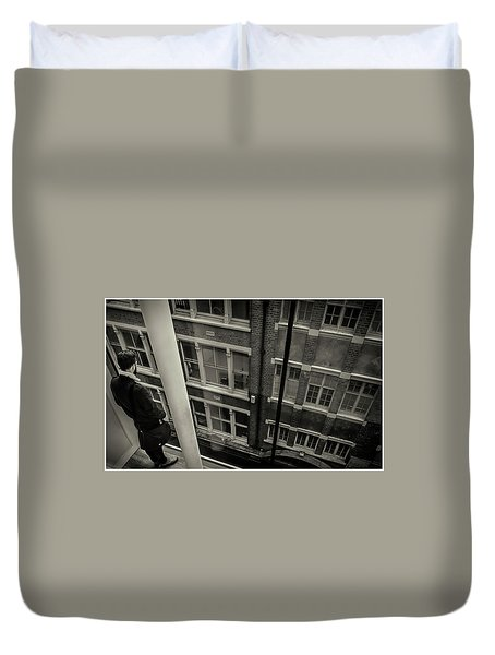 Duvet Cover featuring the photograph Down by Stewart Marsden