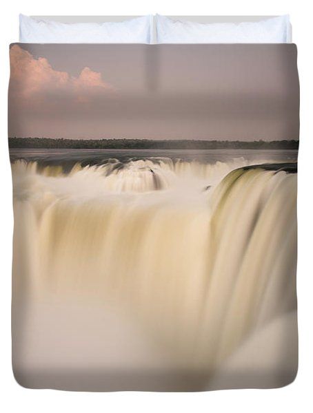 Down The Hatch Duvet Cover