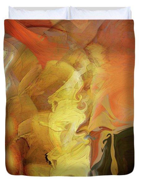 Down Under Duvet Cover by Linda Sannuti