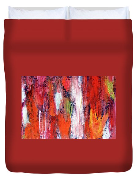 Downpour Of Joy Duvet Cover