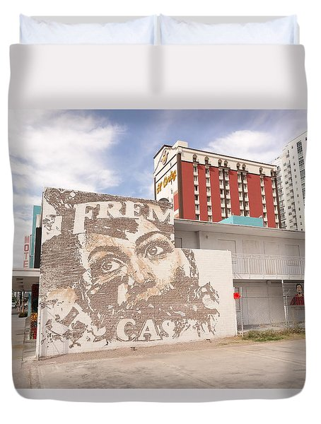 Downtown After Duvet Cover