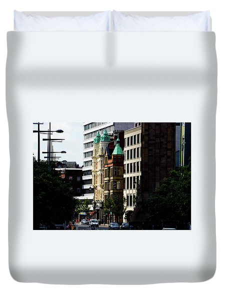 Downtown Belfast Duvet Cover